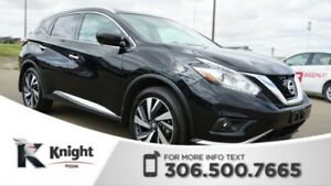 2016 Nissan Murano Platinum AWD! Command Start! Navigation! Adap