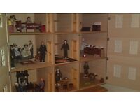 Large heavy dolls house