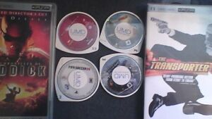 PSP umd Movies and games all for 10