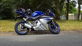 Yamaha YZF-R 125cc 2015 WARRANTY