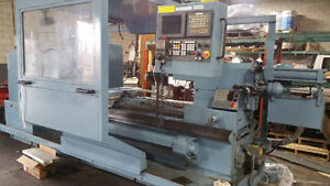 CNC LATHE 52inch large swing 4speed gear head