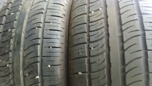 2 new SUV all season tires Pirelly 255/50ZR19 $200 for 2 tires.