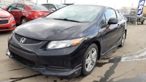 2012 Honda Civic Coupe LX, 2 Way Remote Starter, Sunroof, 6 Mnth