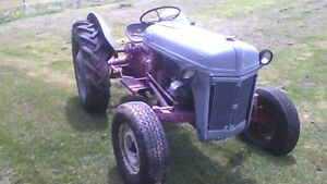 70 Year old classic Ford 8N Tractor
