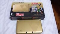 3ds xl zelda edition complete in box comes with games and charge