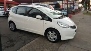 2011 Honda Jazz GE MY11 GLi White 5 Speed Automatic Hatchback Lidcombe Auburn Area Preview