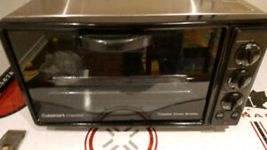 Black Cuisinart Toaster Oven - Functional and Very Clean