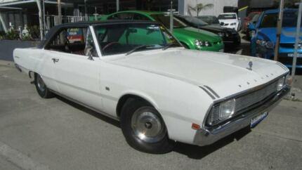 1970 Chrysler Valiant VG White 3 Speed Automatic Coupe