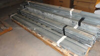 Huge lot of steel framing studs (only 130 left) going fast!