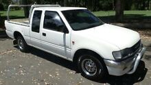 1997 Holden Rodeo TFG6 LX White 5 Speed Manual Spacecab Granville Parramatta Area Preview