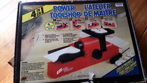 4 IN 1 POWER TOOL SHOP FOR KIDS...BRAND NEW!!!