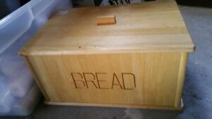 Bread box, room divider ,ceiling fan