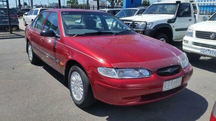 1997 Ford Falcon EL GLI Sapphire Red 4 Speed Automatic Sedan Cheltenham Kingston Area Preview