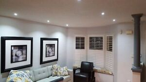 POT LIGHTS INSTALLATION < > Professional service - low prices Cambridge Kitchener Area image 1