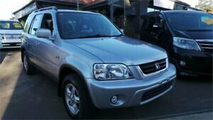2001 Honda CR-V (4x4) Sport Silver 4 Speed Automatic 4x4 Wagon Greenacre Bankstown Area Preview