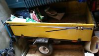 Utility Trailer - No Rust - Lights Work - CAN CARRY 4'x8' sheets