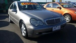 2002 Mercedes-Benz C200 Kompressor W203 MY2003 Elegance Gold 5 Speed Sports Automatic Sedan Cheltenham Kingston Area Preview