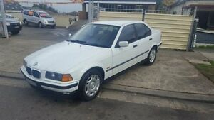 1997 BMW 318I E36 Executive White 4 Speed Automatic Sedan