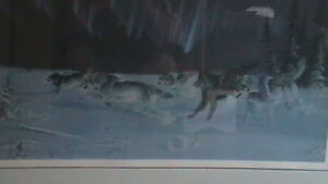 Randy Fehr Under the Arctic Lights Lithograph Kitchener / Waterloo Kitchener Area image 4