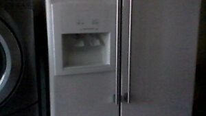 double door fridge and front louder washer and dryer must go !