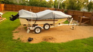 16 Foot 6 seater Star Craft with Humminbird  GPS Fish finder