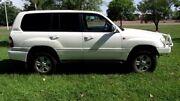 2005 Toyota Landcruiser HDJ100R Sahara Pearl White 5 Speed Automatic Wagon Winnellie Darwin City Preview