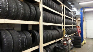Large Selection of Quality Used and New Tires. All Sizes and Bra