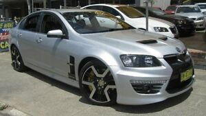 2010 Holden Special Vehicles GTS E3 Silver 6 Speed Manual Sedan Homebush Strathfield Area Preview