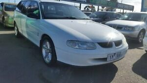 1998 Holden Commodore VT Executive White 4 Speed Automatic Wagon Cheltenham Kingston Area Preview