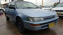 1996 Toyota Corolla AE101R CS-X Seca Blue 5 Speed Manual Liftback Wentworthville Parramatta Area Preview