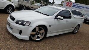 2009 Holden Commodore VE MY09.5 SS-V White 6 Speed Manual Utility Sylvania Sutherland Area Preview