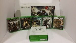 Xbox One S Gears of War Bundle W/Controller + Extra Games