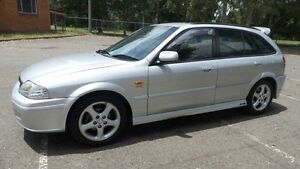 2001 Ford Laser KQ SR2 Silver 5 Speed Manual Hatchback Granville Parramatta Area Preview