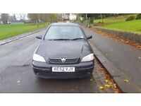 Vauxhall Astra 2002 1.7 DTi ECO4 £30 yearly Road Tax 16v LS 5dr Hatchback Very Economical Car