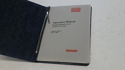 Prentice Hydro-ax F G H Hsr Ts Remote Operators Parts Manual Ci226