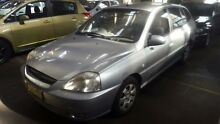 2004 Kia Rio BC Silver 4 Speed Automatic Hatchback Georgetown Newcastle Area Preview
