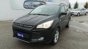 2015 Ford Escape SE, 4WD, Bluetooth, Low Kms!