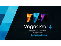 Sony vegas 14 13 Pro Full Version WITH KEY (DOWNLOAD & NEXT DAY DELIVERY)