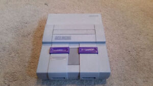 SNES Super Nintendo w/ Super Mario World