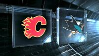 "San Jose Sharks VS Flames, Dec 8, Tues  ""Right on the Blue Line"""