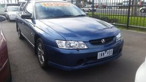 2003 Holden Ute VY S Blue 4 Speed Automatic Utility