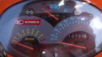 Kymco Super9, 49cc, avec 12 733 kilos en bonne état, marche A1