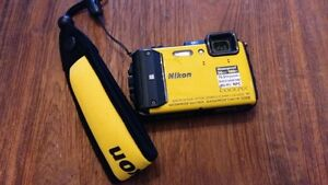 NIKON AW130 Waterproof camera