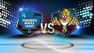 Maple Leafs vs Florida Panthers.....March 28th.....2 Nice Seats!