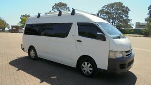 2008 Toyota HiAce TRH223R MY07 UP camper/van White 4 Speed Automatic Van Condell Park Bankstown Area Preview