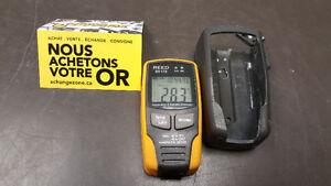 Instruments de mesure de la température et l'humidité Reed ST172