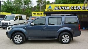 2006 Nissan Pathfinder R51 ST-L Blue 5 Speed Automatic Wagon Upper Ferntree Gully Knox Area Preview
