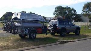 Custom Offroad Trailer with HUGE 14 foot tent + EXTRA WIDE annex Melville Melville Area Preview