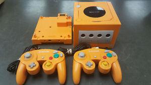 Console Gamecube Orange édition Japonais + 2 manettes