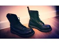 Dr. Martens Black Boots 10105